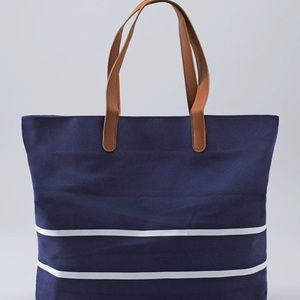 WHBM Canvas Tote